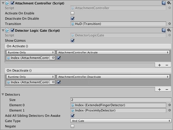 Detection Utilities — Leap Motion Unity SDK v3 2 Beta