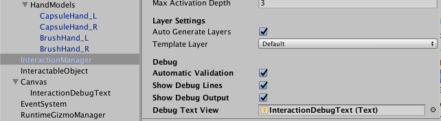 Setting up an Interaction Engine Scene — Leap Motion Unity